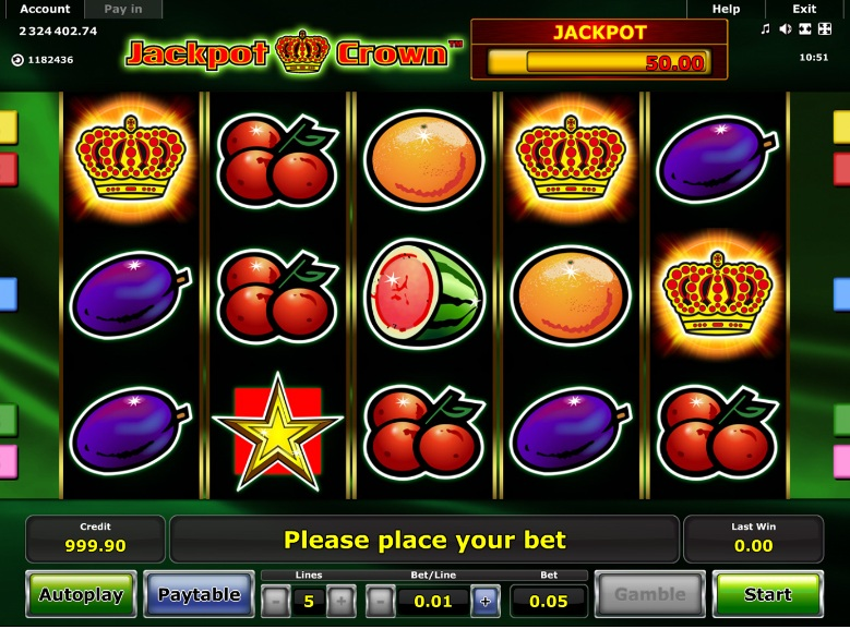 novomatic online casino game slots